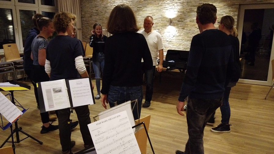 Blasorchester Bad Holzhausen: Probenwochenende YoungsterBand Body Percussion